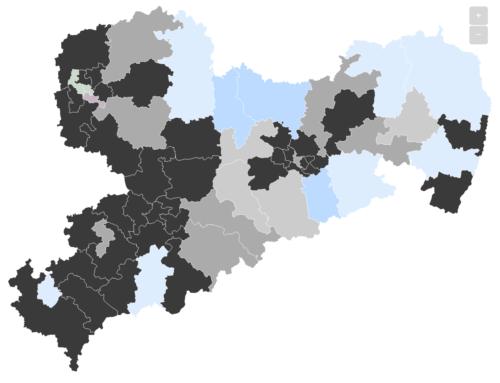 Sachsen: CDU steigt auf 36,5 Prozent – AfD kaum verändert