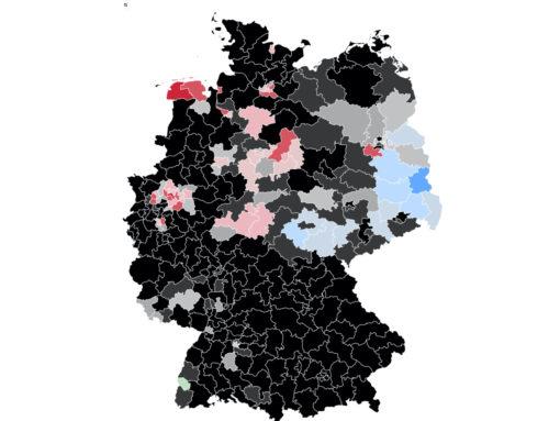 Bundestagswahlkreise 2021: Unions-Direktmandate gehen zurück – Zuwächse für SPD, AfD und Grüne