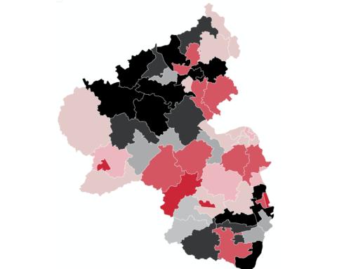 Rheinland-Pfalz: SPD und CDU liegen Kopf-an-Kopf – Grüne wieder deutlich zweistellig