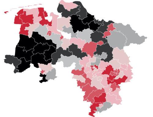 Niedersachsen: SPD knapp vor CDU – Grüne legen zu