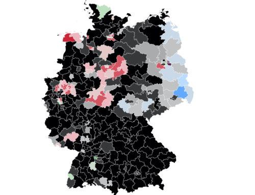 Im Bund: Union mit leichten Verlusten – Grüne im Westen klar über 20 Prozent