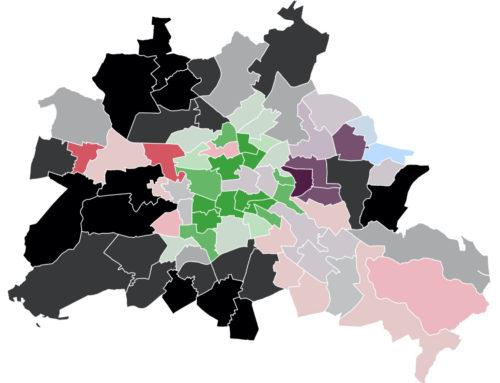 Berlin: CDU knapp vorn – Grüne und Linke hinken eigenen Bundeswerten hinterher – SPD-Direktmandate auf Talfahrt