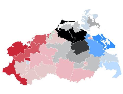 Mecklenburg-Vorpommern: SPD baut Vorsprung aus – CDU fällt auf Niveau der letzten Landtagswahl, liegt jedoch im Bund klar vorn