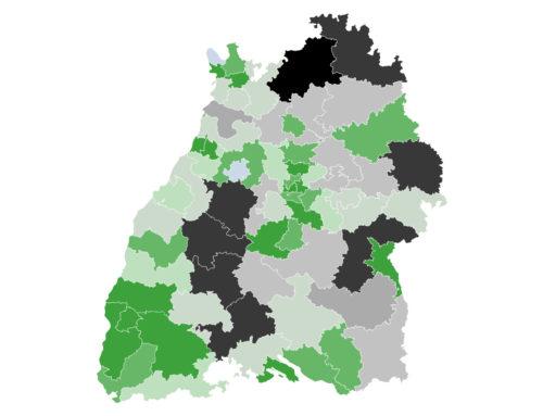 Baden-Württemberg: Grüne bauen Vorsprung aus  – CDU verliert
