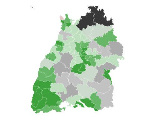 Baden-Württemberg: Enges Rennen um die Zweitmandate