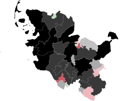 Schleswig-Holstein: Grüne erstmals knapp vor CDU