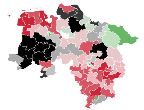 Niedersachsen: Dreikampf um Platz 1 – Stephan Weil führt in den meisten Regionen