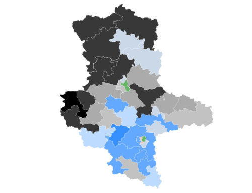 Sachsen-Anhalt: CDU knapp vor AfD – Vierkampf um Platz 3