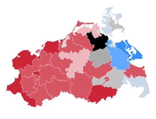 Mecklenburg-Vorpommern: SPD baut landesweiten Vorsprung aus – Greifswalder Stadtteile mehrheitlich grün