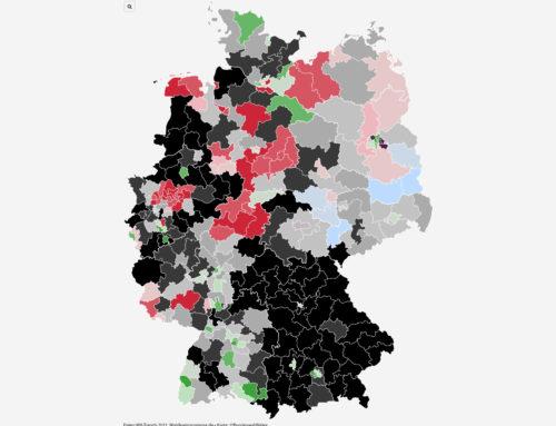 Im Bund: Grüne überholen Union in NRW und Hessen
