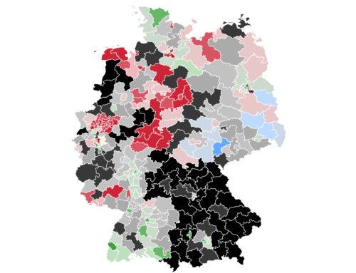 Im Bund: Grüne rauschen hinter Union zurück – SPD legt zu – FDP-Chef vor Direktmandat