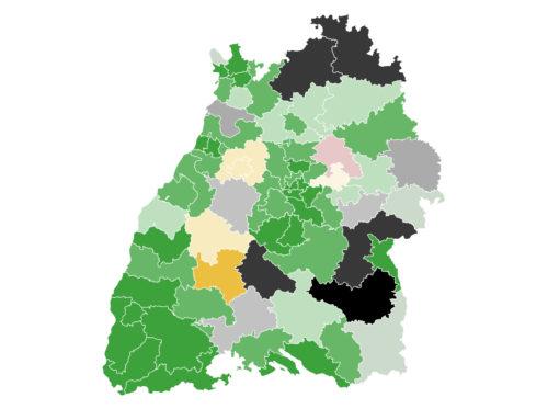 Baden-Württemberg: Grüne und CDU mit leichten Verlusten – FDP steigt auf  17 Prozent