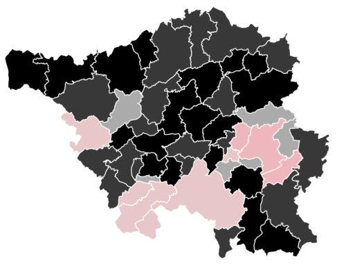 Saarland: Wachsender Rückhalt für CDU und SPD im Landestrend – Kopf-an-Kopf-Rennen in den Bundestagswahlkreisen.