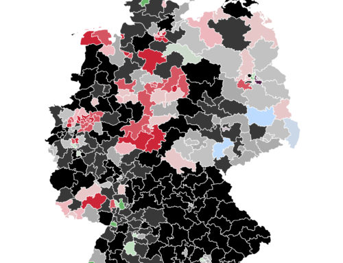 Im Bund: Scholz zieht bei K-Frage an Laschet vorbei – Unionsparteien weiterhin unangefochten vorne