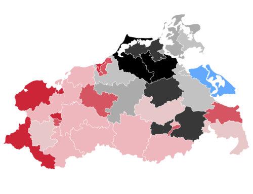MV: SPD und CDU mit massiven Zugewinnen – Landtagseinzug für Grüne und FDP ungewiss