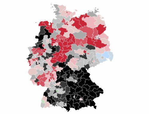 Im Bund: Fast die Hälfte aller Wahlkreisrennen bleibt offen – SPD vorn – Union knapp dahinter